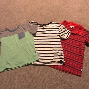 5 Splendid shirts size 4/and two long sleeve 5/6